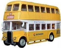 BRITBUS L005 OO SCALE Leyland Titan PD2 d deck bus Southdown Trainer